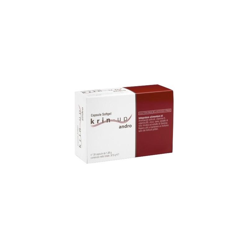 Cieffe Derma - Krin Up Andro - integratore alimentare anti-caduta dei capelli 30 capsule