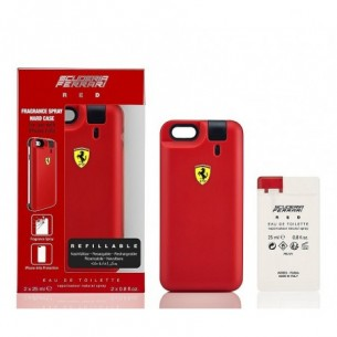 Scuderia Ferrari Red -cover spray Eau de Toilette per iPhone6/6S + ricarica 25 ml