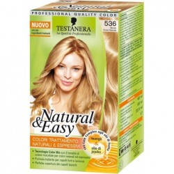 tinta per capelli colorazione permanente natural & easy n 536 biondo dorato naturale
