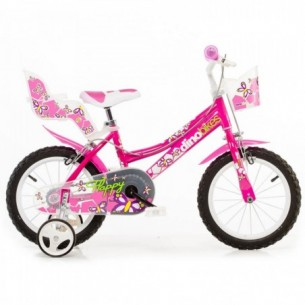 """Flappy - Bicicletta bimba ruota 16"""" - Rosa"""