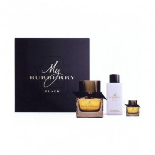 Cofanetto My Burberry Black Eau de parfum donna 90 ml + lozione corpo 75 ml + eau de parfum 5 ml