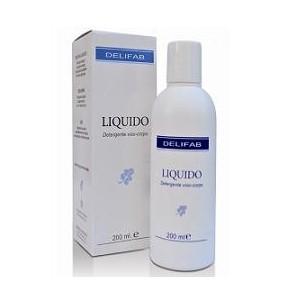 delifab liquido - detergente delicato viso e corpo  200 ml