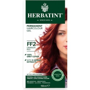 Herbatint Flash Fashion - gel colorante permanente FF2 Rosso Porpora