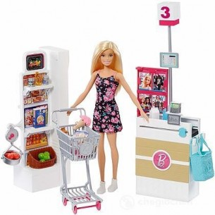 Barbie al Supermercato