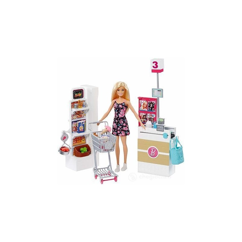 MATTEL - Barbie al Supermercato