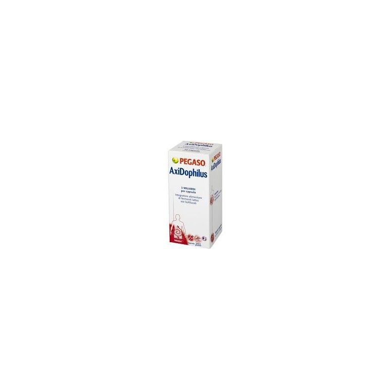 PEGASO - axidophilus 60 capsule - integratore di fermenti lattici