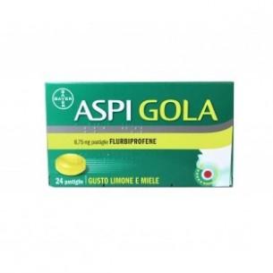Aspi Gola - 8,75 mg 24 pastiglie gusto limone e miele