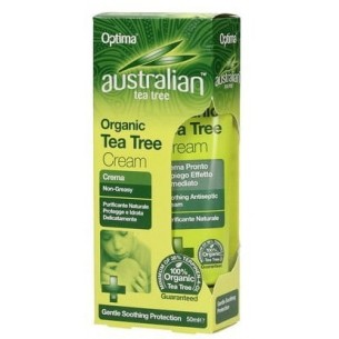Australian Tea Tree Cream - Crema antisettica all'olio essenziale di tea tree 50 ml