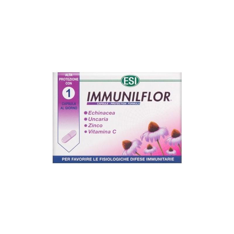 Integratore Alimentare Immunostimolante Immunilflor 30 Capsule