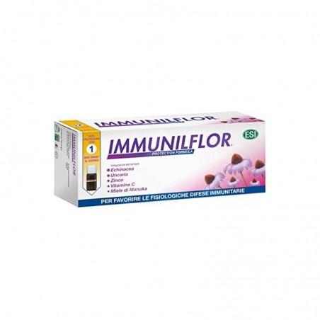 ESI - Immunilflor Mini Drink 12 Flaconcini Bevibili - Integratore Immunostimolante