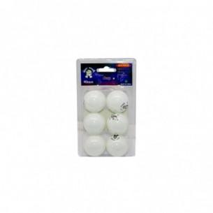 Palline ping pong - blister da 6 pezzi
