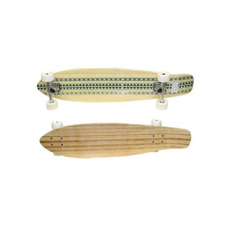 Skateboard in bambù