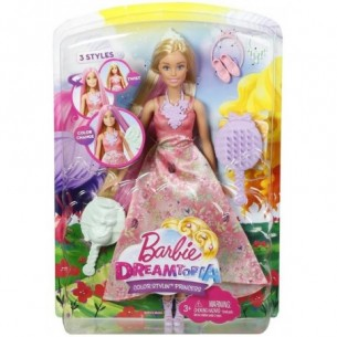 Barbie Dreamtopia principessa chioma colorata - colori assortiti