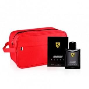 Cofanetto Scuderia Ferrari Black - eau de toilette 40 ml + pochette