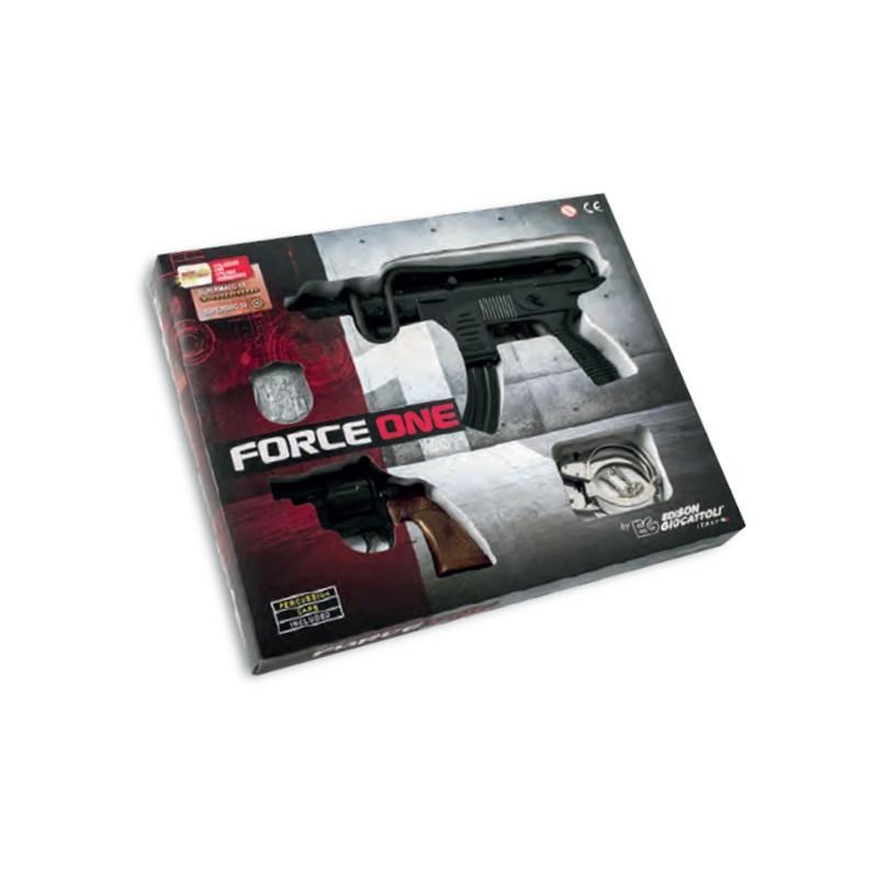 EDISON GIOCATTOLI - Force One - set di armi giocattolo delle forze speciali