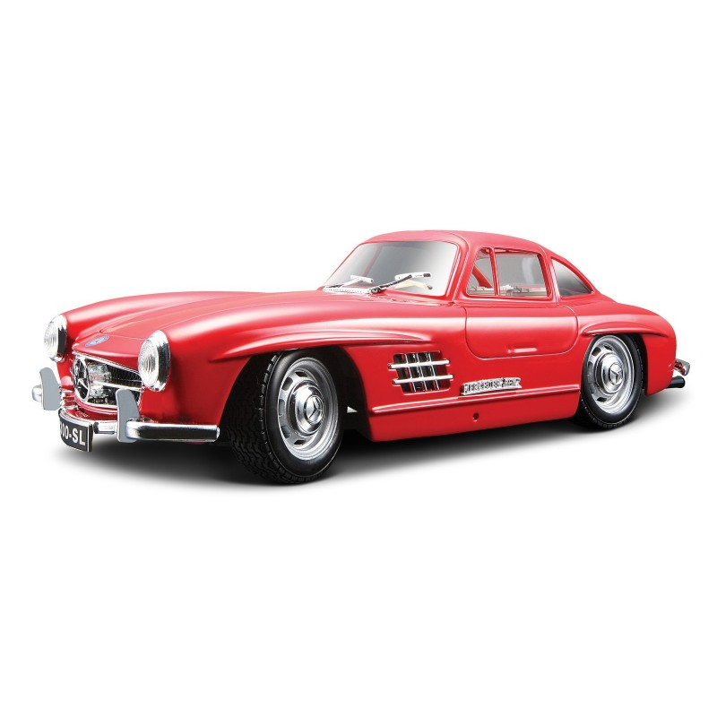 BBURAGO - Mercedes Benz 300SL in scala 1:24 colori assortiti