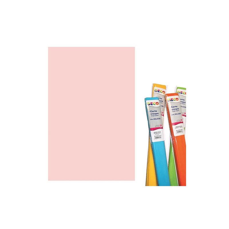 CWR - 10 rotoli di carta crespa 40 g - rosa pallido