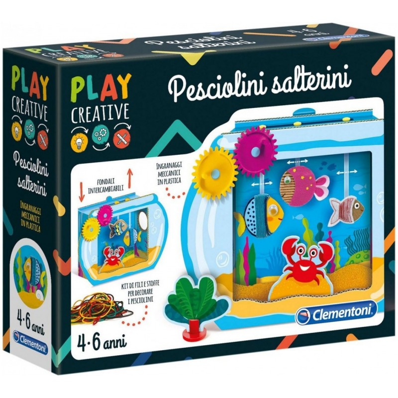 CLEMENTONI - Play Creative - Pesciolini Salterini