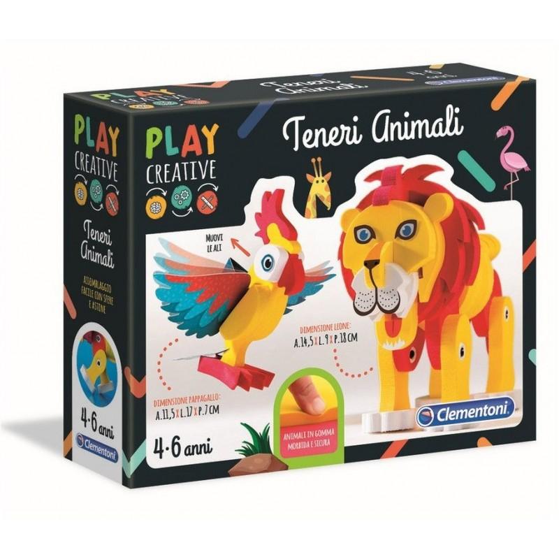 CLEMENTONI - Play Creative - Teneri Animali
