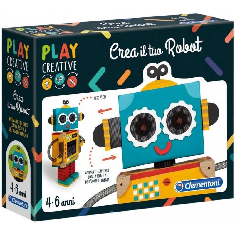 CLEMENTONI - Play Creative - Crea il tuo Robot