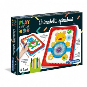 Play Creative - Animali Spiralosi