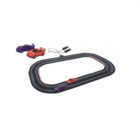 MONDO - pista a batteria con macchinine Porsche 2.5 mt