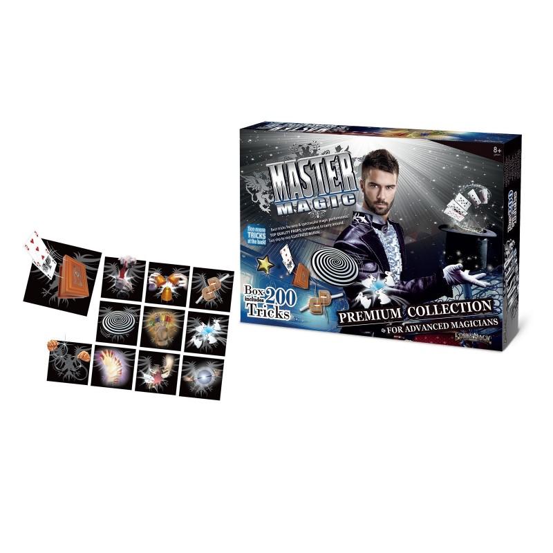 GRANDI GIOCHI - Set Magia con 200 Trucchi