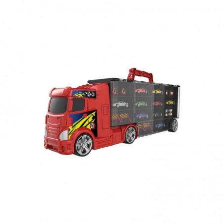 GRANDI GIOCHI - Teamsterz - bisarca porta auto con 6 auto
