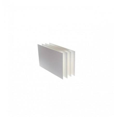 FAVINI - Cartoncino Prisma colore bianco Confezione da 10 fogli