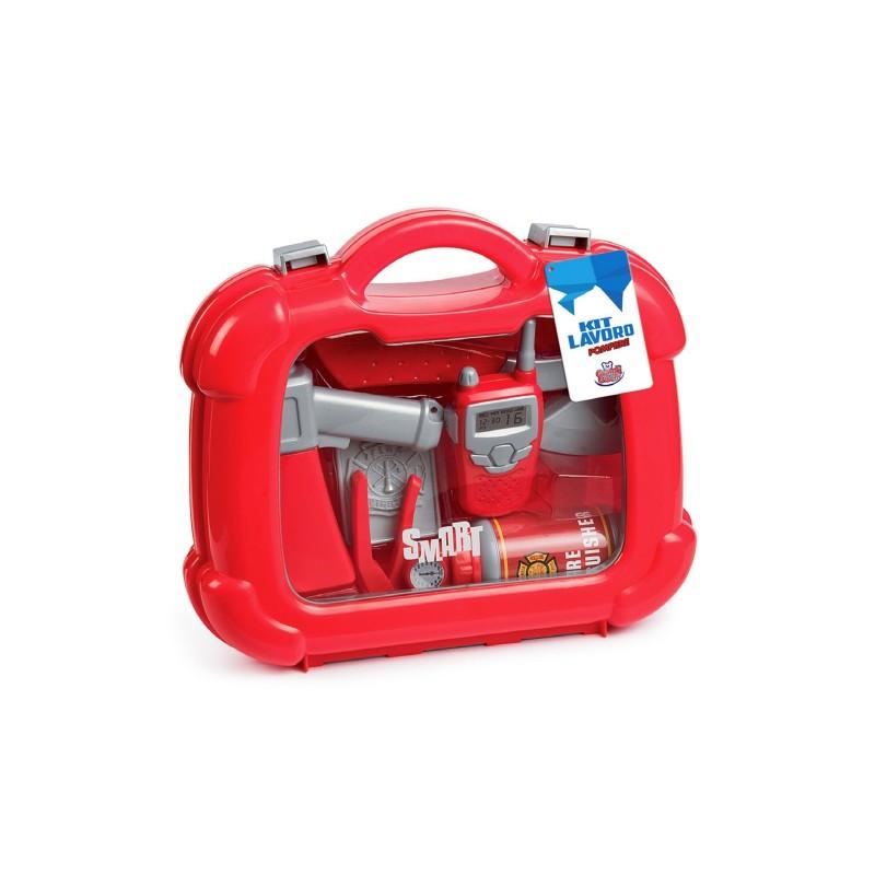 GRANDI GIOCHI - kit lavoro - Valigetta del pompiere