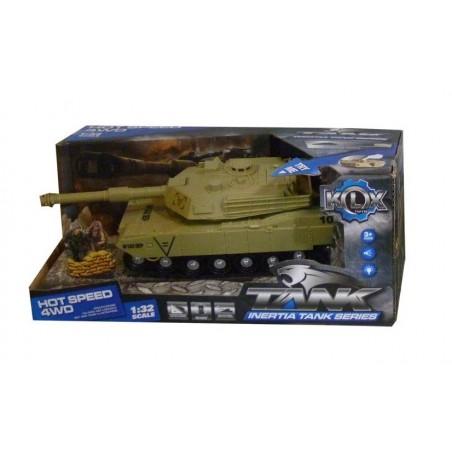 KIDZ CORNER - Carro armato con luci e suoni - colori assortiti