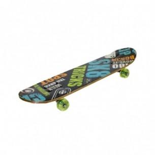 Skateboard in legno lungo 71 centimetri