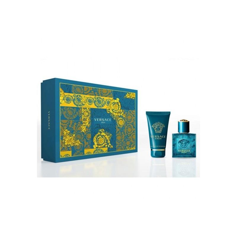 VERSACE - Eros Kit - Eau de Toilette uomo 30ml + Shower Gel 50ml