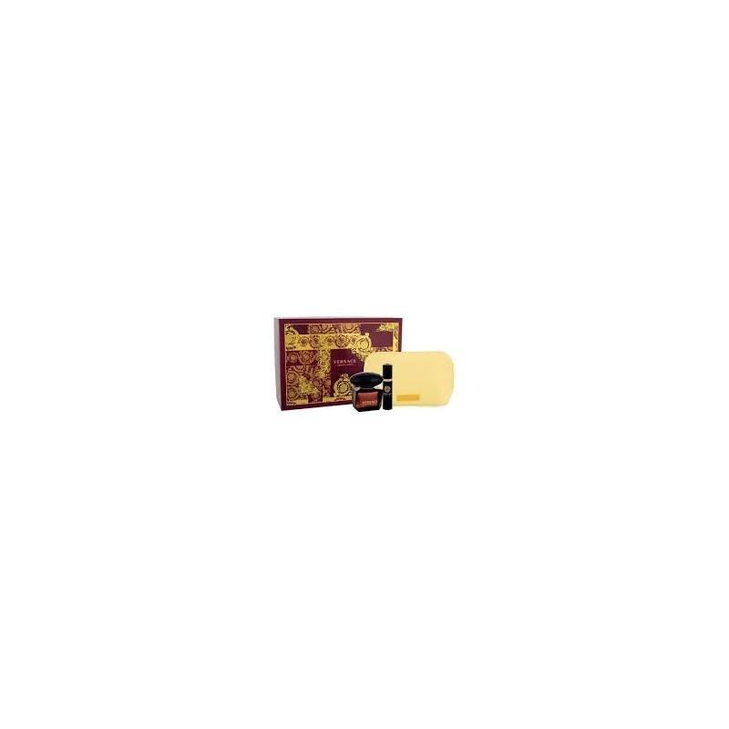 VERSACE - Crystal Noir Kit - Eau de toilette donna 90ml + Eau de Toilette Travel Spray 10 ml + pochette