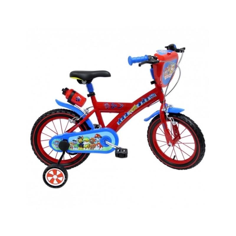 """MONDO - Paw patrol - bicicletta con rotelle diametro ruota 14"""""""