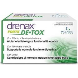 integratore alimentare drenax forte detox utile per la  funzionalità epatica 10 bustine