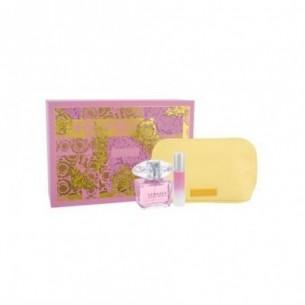 Bright Crystal Kit - Eau de Toilette 90ml + Eau de Toilette 10 ml + pochette gialla donna