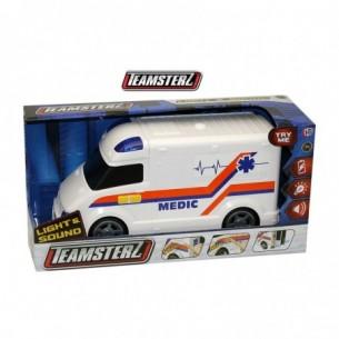 Teamsterz - Ambulanza con luci e suoni