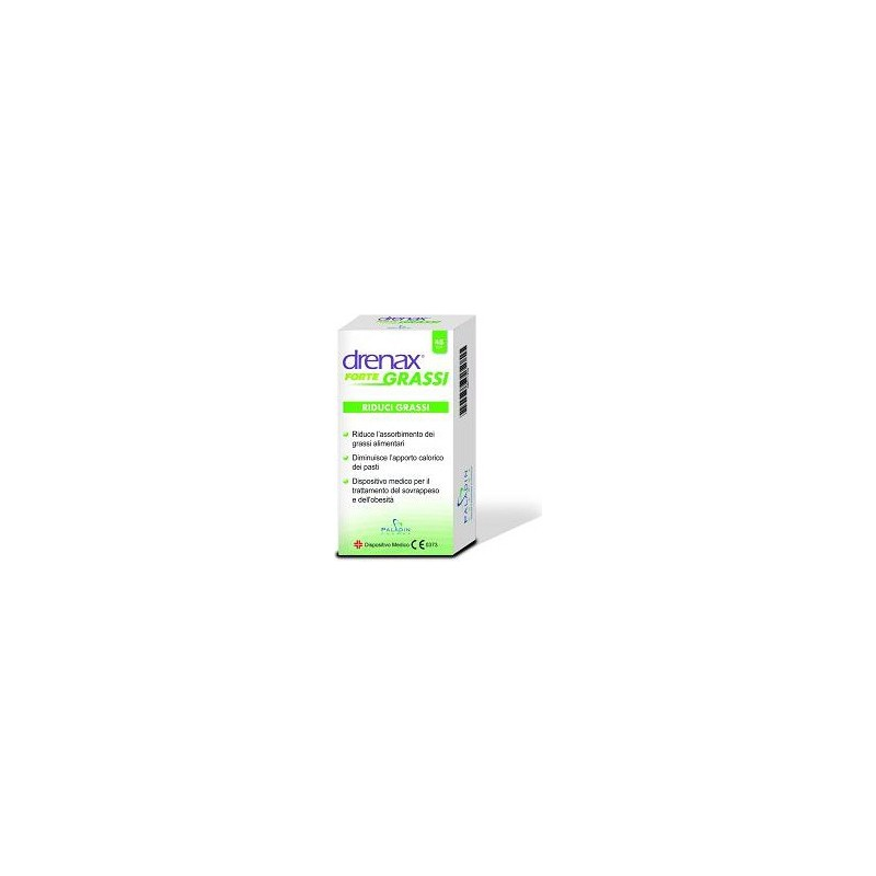 PALADIN PHARMA - drenax forte grassi 45 compresse - integratore alimentare per la riduzione dei grassi alimentari