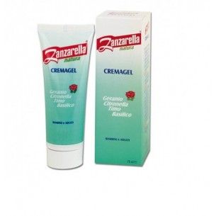 Crema Gel Repellente Antizanzara Naturale Per Bambini  Natura Cremagel 75 Ml