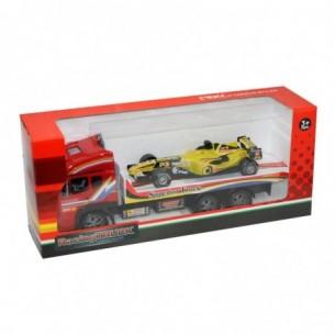 KIDZ CORNER - Bisarca con auto F1 40 cm