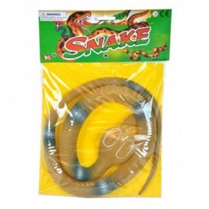 Serpente in gomma 105 cm - colori assortiti