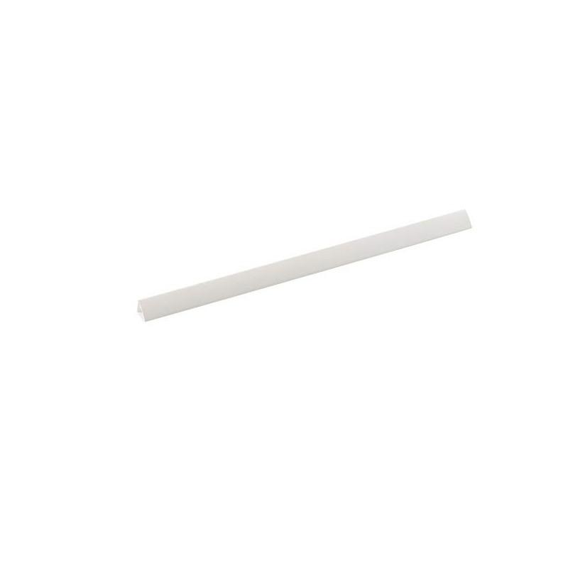 ALEVAR - Dorsini in Pvc 12mm colore bianco Confezione 100 pezzi