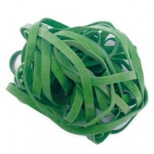 Elastici a Fettuccia Verde Diametro 50 mm - busta da 1 Kg