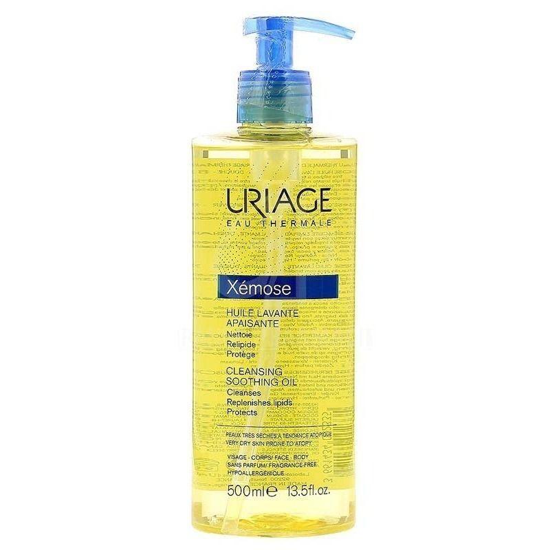 URIAGE - Xémose - olio detergente lenitivo viso e corpo 500 ml