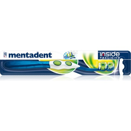 spazzolino da denti inside precision con 2 testine che si adattano all'arcata interna