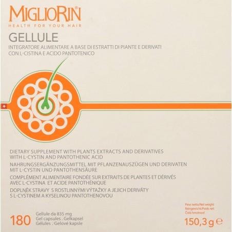 migliorin sanotint 180 gellule perle per rinforzare capelli e unghie