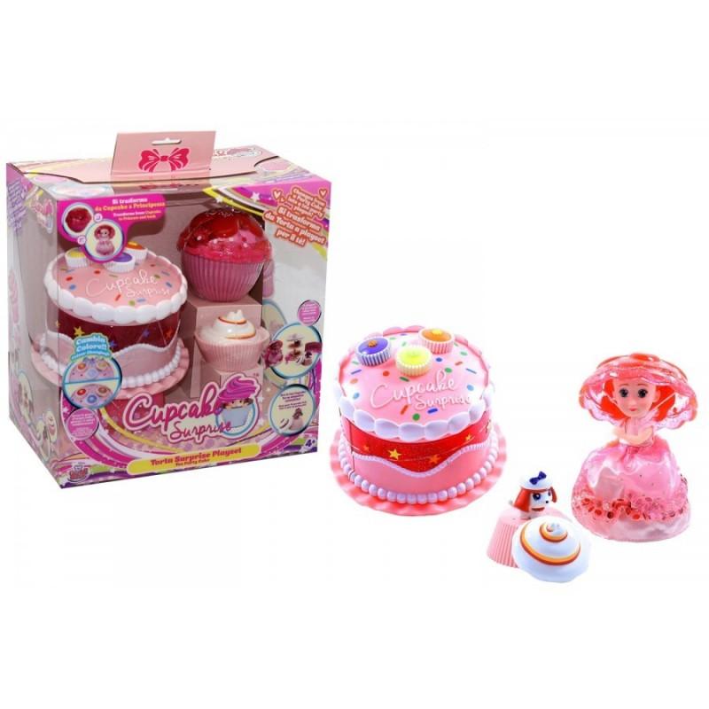 GRANDI GIOCHI - Cupcake Surprise Tea - Party Cake set gioco