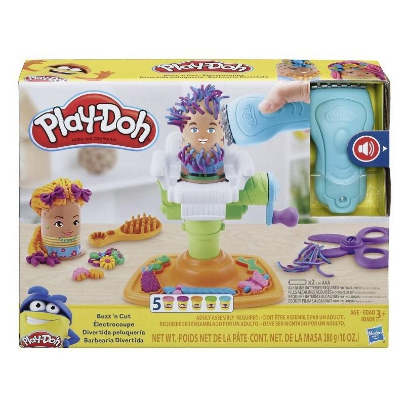HASBRO - Play-doh Il Fantastico Barbiere - pasta per giocare