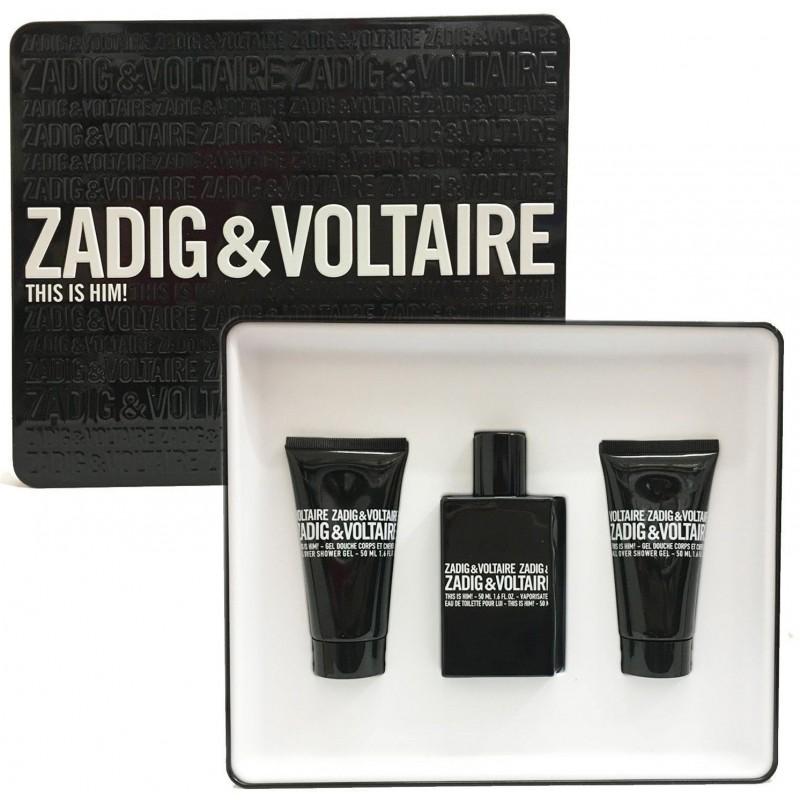 Zadig & Voltaire - This is Him! Cofanetto - Eau de Toilette 50 ml + gel doccia 2x50 ml